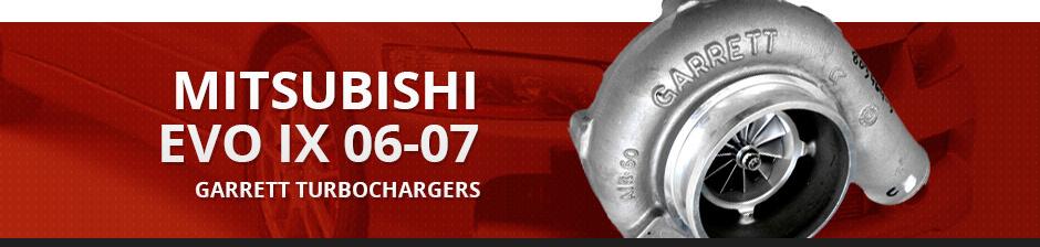 MITSUBISHI EVO IX 06-07 GARRETT TURBOCHARGERS
