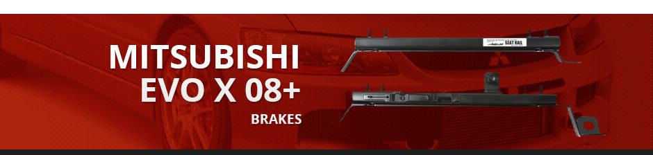 MITSUBISHI EVO X 08+ BRAKES