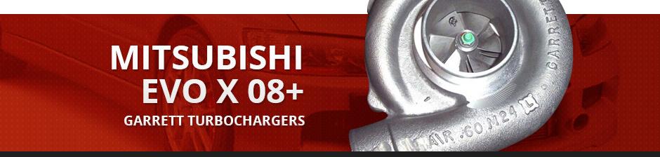 MITSUBISHI EVO X 08+ GARRETT TURBOCHARGERS
