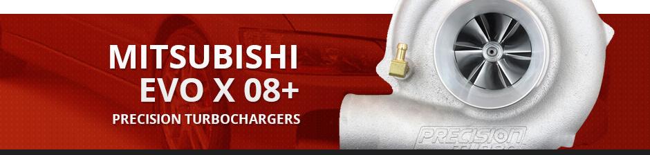 MITSUBISHI EVO X 08+ PRECISION TURBOCHARGERS