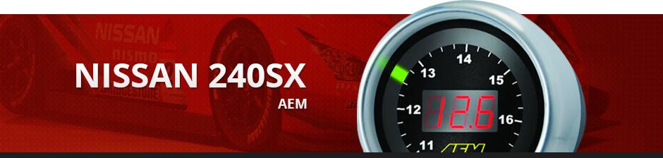 NISSAN 240SX AEM
