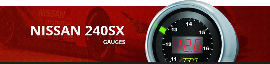 NISSAN 240SX GAUGES