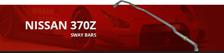 NISSAN 370Z SWAY BARS