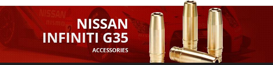 NISSAN INFINITI G35 ACCESSORIES