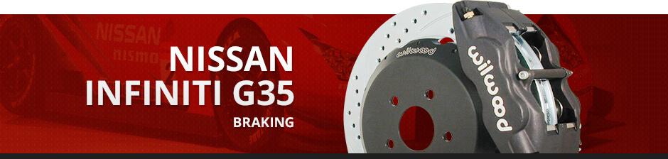 NISSAN INFINITI G35 BRAKING