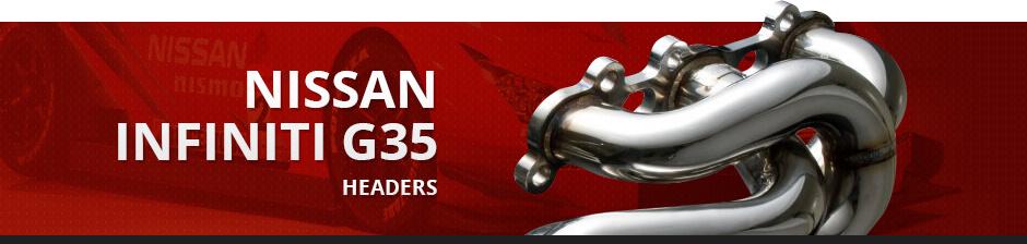 NISSAN INFINITI G35 HEADERS