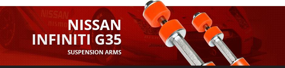 NISSAN INFINITI G35 SUSPENSION ARMS