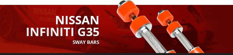 NISSAN INFINITI G35 SWAY BARS