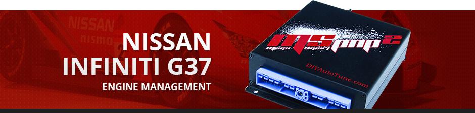NISSAN INFINITI G37 ENGINE MANAGEMENT