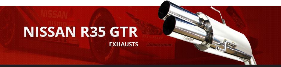 NISSAN R35 GTR EXHAUST