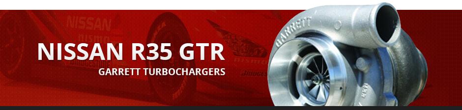 NISSAN R35 GTR GARRETT TURBOCHARGERS