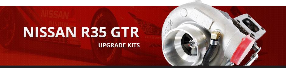 NISSAN R35 GTR UPGRADE KITS
