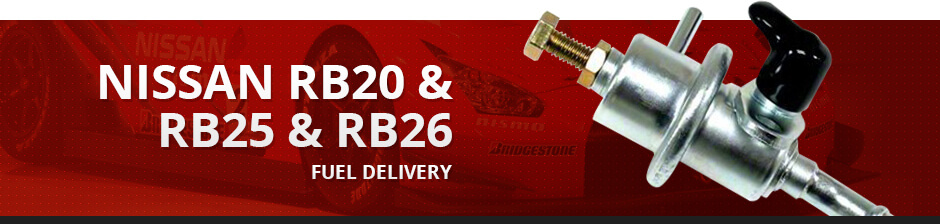 NISSAN RB20 & RB25 & RB26 FUEL DELIVERY