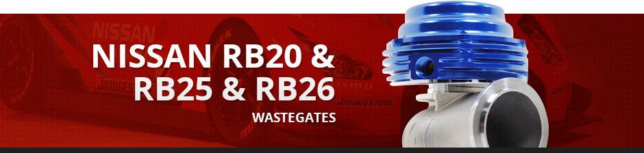 NISSAN RB20 & RB25 & RB26 WASTEGATES
