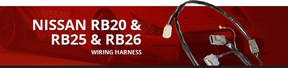 NISSAN RB20 & RB25 & RB26 WIRING HARNESS