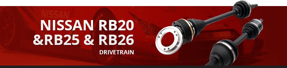 NISSAN RB20 & RB25 & RB26 DRIVETRAIN