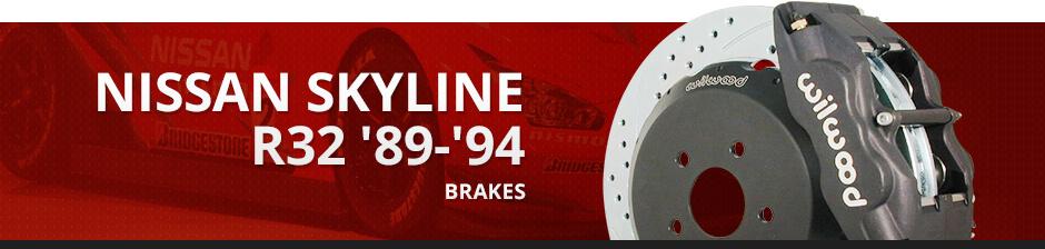 NISSAN SKYLINE R32 '89-'94 BRAKES