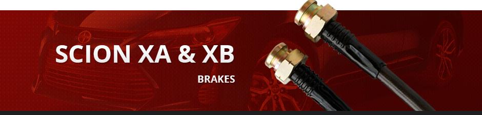 SCION XA & XB BRAKES