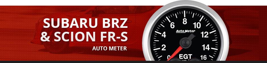 SUBARU BRZ & SCION FR-S AUTO METER