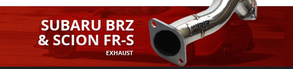 SUBARU BRZ & SCION FR-S EXHAUST