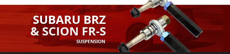 SUBARU BRZ & SCION FR-S SUSPENSION