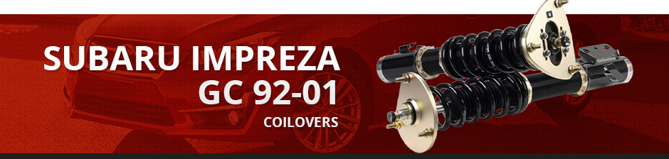 SUBARU IMPREZA GC 92-01 COILOVERS