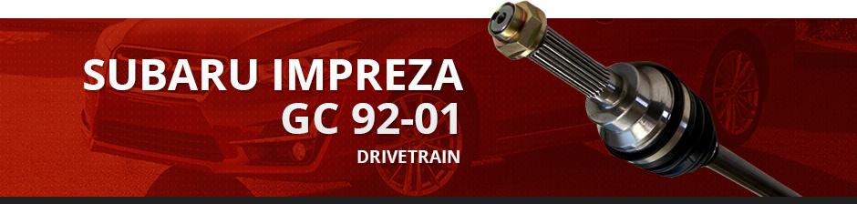 SUBARU IMPREZA GC 92-01 DRIVETRAIN