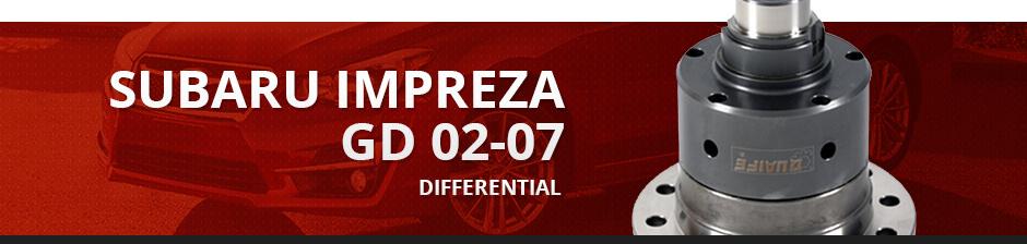 SUBARU IMPREZA GD 02-07 DIFFERENTIAL