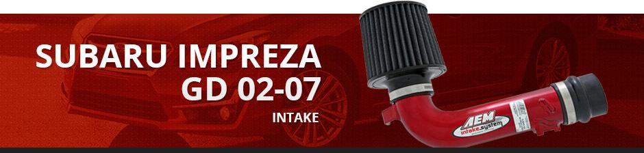 SUBARU IMPREZA GD 02-07 INTAKE