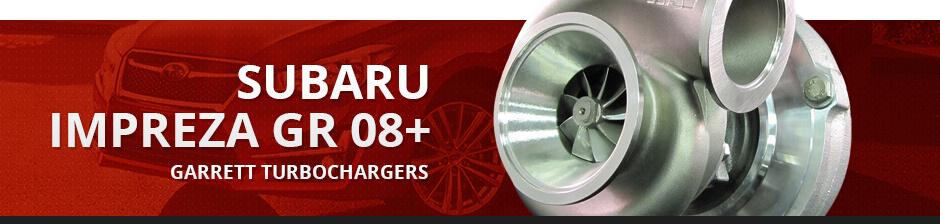 SUBARU IMPREZA GR 08+ GARRETT TURBOCHARGERS