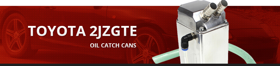 TOYOTA 2JZGTE OIL CATCH CANS
