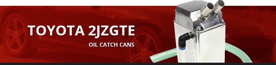 TOYOTA 2JZGTE OIL CATCH CANS