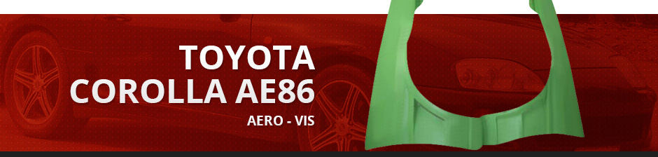 TOYOTA COROLLA AE86 AERO - VIS