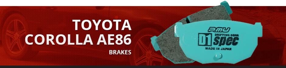 TOYOTA COROLLA AE86 BRAKES