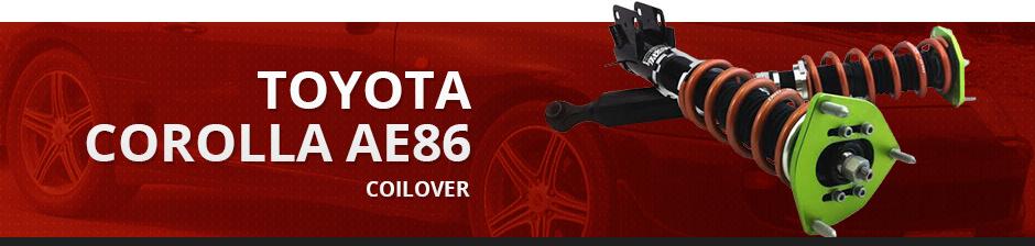 TOYOTA COROLLA AE86 COILOVER