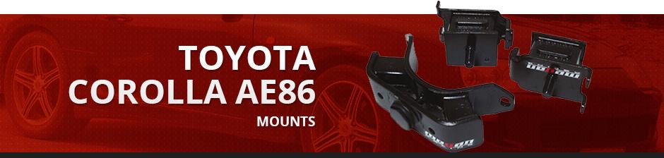 TOYOTA COROLLA AE86 MOUNTS