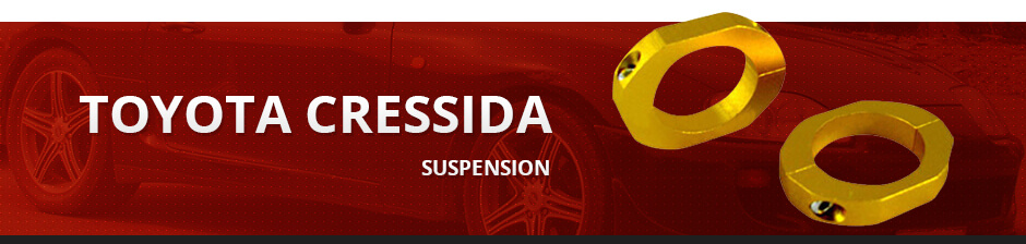 TOYOTA CRESSIDA SUSPENSION