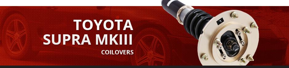 TOYOTA SUPRA MKIII COILOVERS