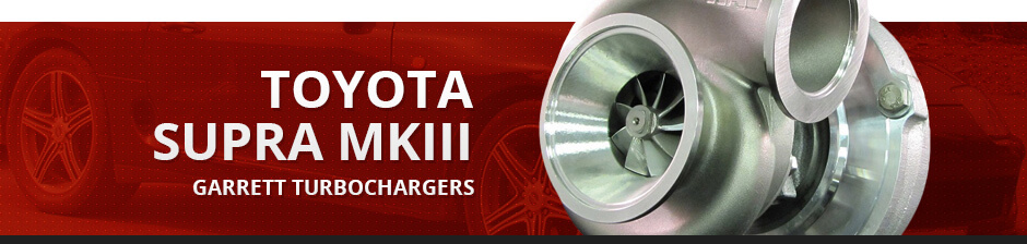 TOYOTA SUPRA MKIII GARRETT TURBOCHARGERS