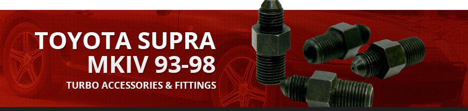TOYOTA SUPRA MKIV 93-98 TURBO ACCESSORIES & FITTINGS