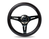 NRG 310mm Wood Grain Steering Wheel - Various Colors