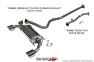 Tanabe Medalion Touring Exhaust for Scion FR-S & Subaru BRZ