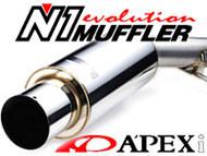 APEXi N1 Exhaust - Subaru Impreza 02-07 WRX / STI