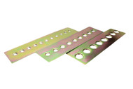ISR  Performance Universal Steel Gusset Dimple Plates - 20mm Holes