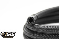 ISIS Performance -6AN Braided Black Nylon Hose - (Per Foot)