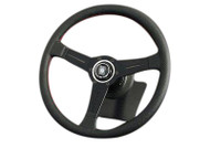 Nardi Classic 330mm Steering Wheel (Red Stitch)