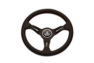 Nardi Rally Line 330mm Deep Corn Leather Wheel