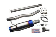Tomei - Expreme Ti Titanium Muffler For Evo7-9 4G63 Japanese Bumper
