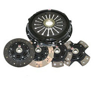 Competition Clutch - 184MM RIGID TWIN - Mitsubishi Eclipse 2.0L FWD Turbo - 6 bolt application 1989-1992