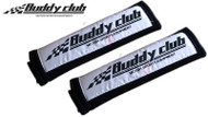 Buddy Club Shoulder Pads(Pair) - Black